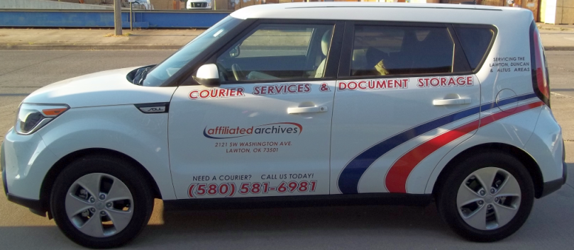 Affiliated Van Lines' sister company, Affiliated Archives, can handle all your courier and document storage needs!