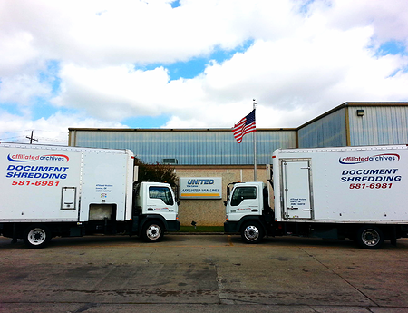 Affiliated Archives document storage and courier service is a sister company to Affiliated Van Lines of Lawton, Inc.